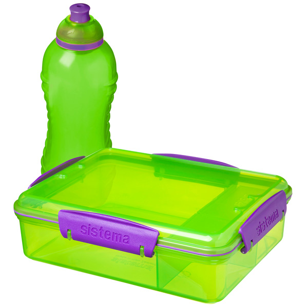 Фото - Контейнер для продуктов Sistema Lunch Pack 975мл Green (41575) пенал dakine lunch box 5 l augusta