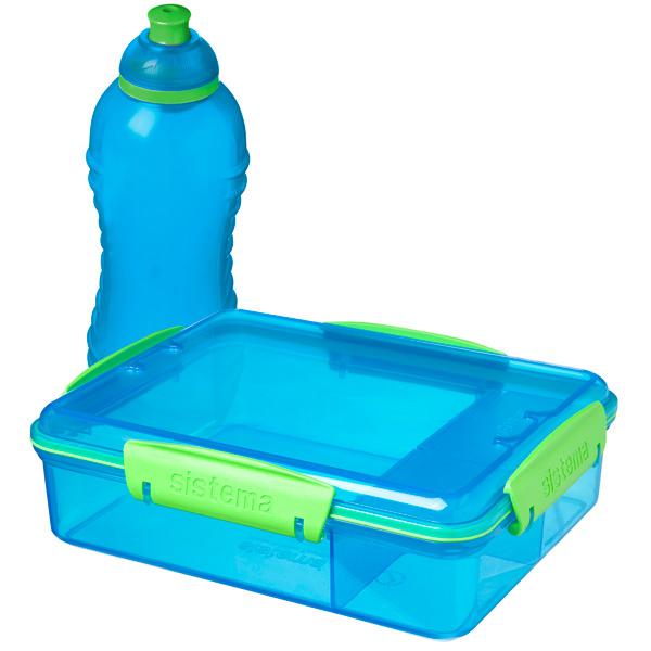 Фото - Контейнер для продуктов Sistema Lunch Pack 975мл Blue (41575) пенал dakine lunch box 5 l augusta