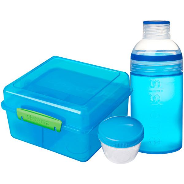 Контейнер для продуктов Sistema Lunch Pack 2л Blue (41580) насос unipump акваробот jet 100 l г а 2л 45190