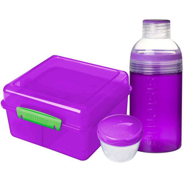 Контейнер для продуктов Sistema Lunch Pack 2л Violet (41580) насос unipump акваробот jet 100 l г а 2л 45190