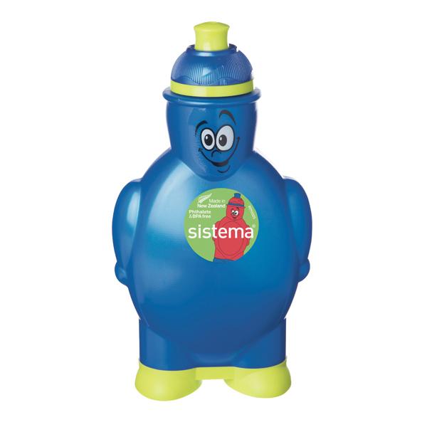 Бутылка для воды Sistema Hydrate Happy Bottle 350мл Blue (790)