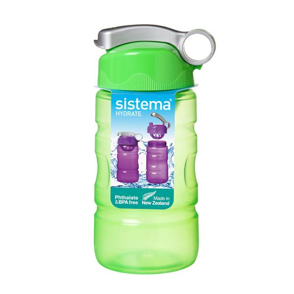 Бутылка для воды Sistema Hydrate Sport Fusion 560мл Green (530) ahava time to hydrate нежный крем для глаз 15 мл