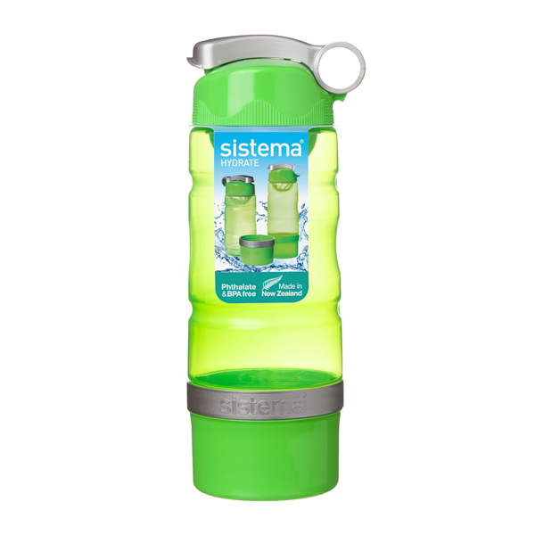 Бутылка для воды Sistema Hydrate Sport Fusion 615мл Green (535) ahava time to hydrate нежный крем для глаз 15 мл