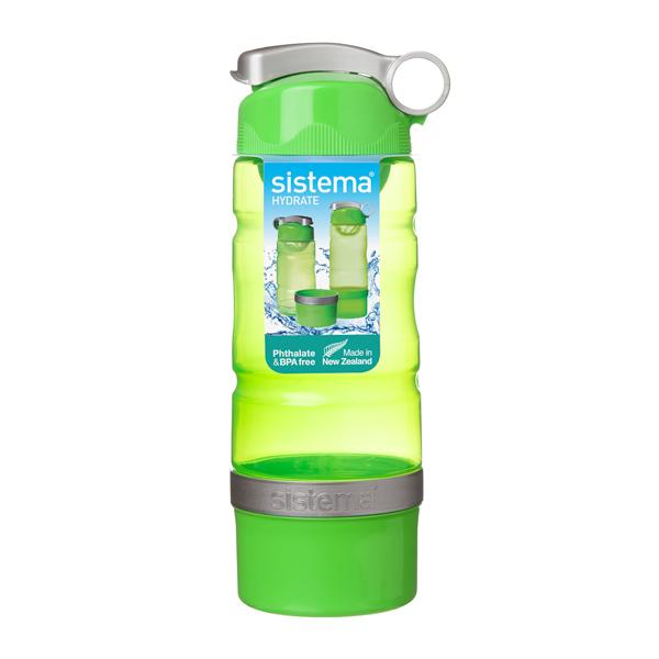Бутылка для воды Sistema Hydrate Sport Fusion 615мл Green (535) уход за ногтями nailtek hydrate 3 объем 15 мл