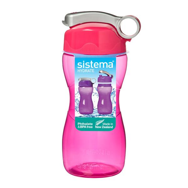 Бутылка для воды Sistema Hydrate Hourglass 475мл Red (580)