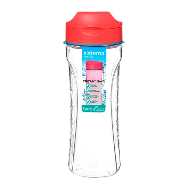 Бутылка для воды Sistema Hydrate Tritan Swift 600мл Orange (640)