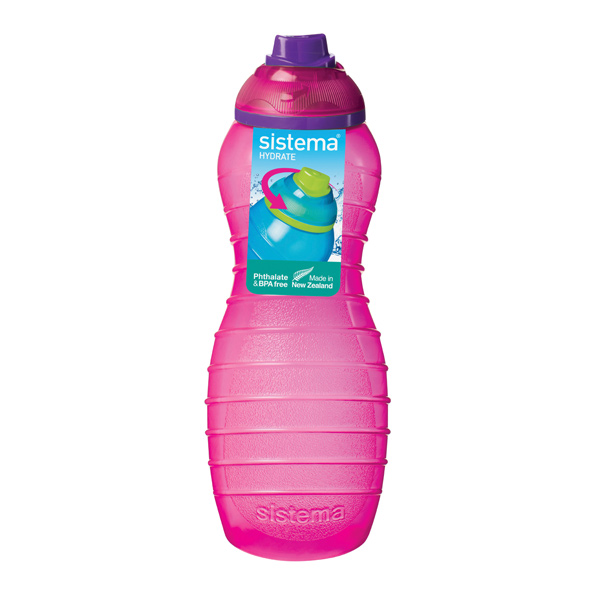 Бутылка для воды Sistema Hydrate Davina Bottle 700мл Red (745NW)