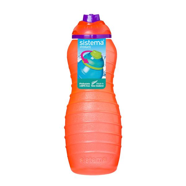 Бутылка для воды Sistema Hydrate Davina Bottle 700мл Orange (745NW)
