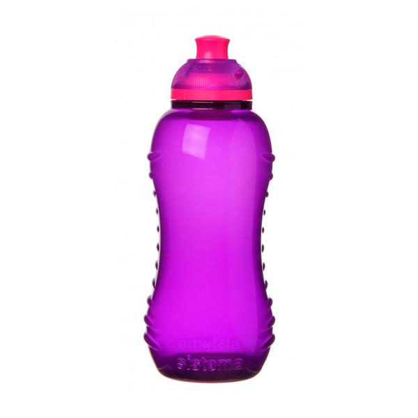 Бутылка для воды Sistema Hydrate Twist \'n\' Sip 330мл Violet (780NW)