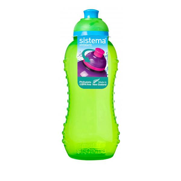 Бутылка для воды Sistema Hydrate Twist \'n\' Sip 460мл Green (785NW)