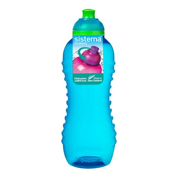 Бутылка для воды Sistema Hydrate Twist \'n\' Sip 460мл Blue (785NW)