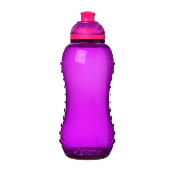 Бутылка для воды Sistema Hydrate Twist \'n\' Sip 460мл Violet (785NW)