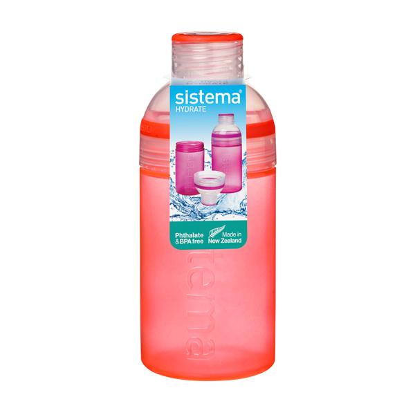 Бутылка для воды Sistema Hydrate Trio 480мл Orange (820)