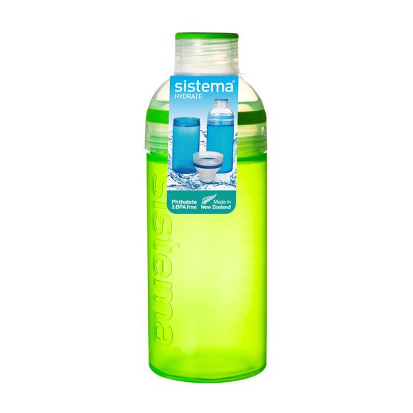 Бутылка для воды Sistema Hydrate Trio 580мл Green (830) ahava time to hydrate нежный крем для глаз 15 мл