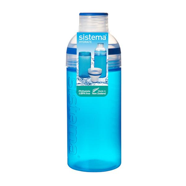 Бутылка для воды Sistema Hydrate Trio 580мл Blue (830) ahava time to hydrate нежный крем для глаз 15 мл