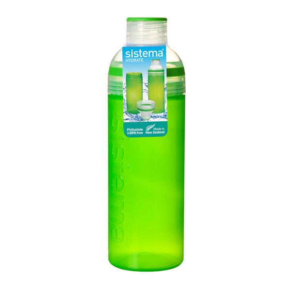 Бутылка для воды Sistema Hydrate Trio 700мл Green (840) ahava time to hydrate нежный крем для глаз 15 мл