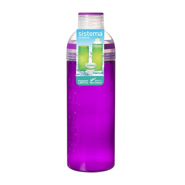Бутылка для воды Sistema Hydrate Trio 700мл Violet (840) ahava time to hydrate нежный крем для глаз 15 мл