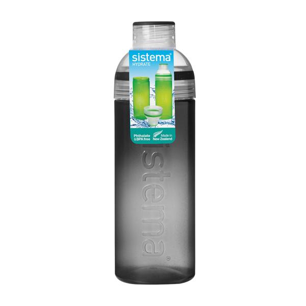 Бутылка для воды Sistema Hydrate Trio 700мл Black (840) ahava time to hydrate нежный крем для глаз 15 мл