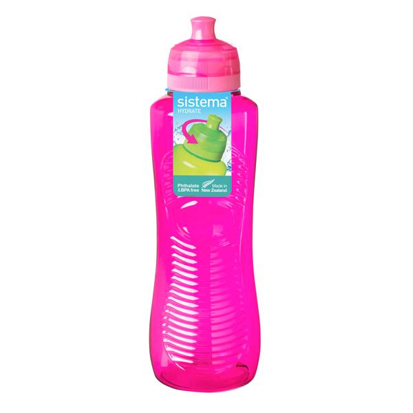 Бутылка для воды Sistema Hydrate Gripper Bottle 800мл Red (850) ahava time to hydrate нежный крем для глаз 15 мл