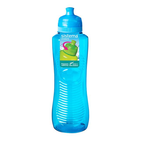Бутылка для воды Sistema Hydrate Gripper Bottle 800мл Blue (850) уход за ногтями nailtek hydrate 3 объем 15 мл