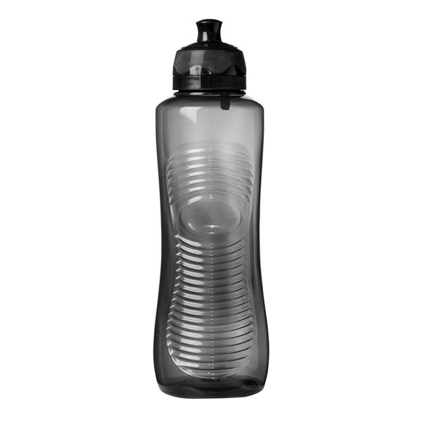Бутылка для воды Sistema Hydrate Gripper Bottle 800мл Black (850) ahava time to hydrate нежный крем для глаз 15 мл