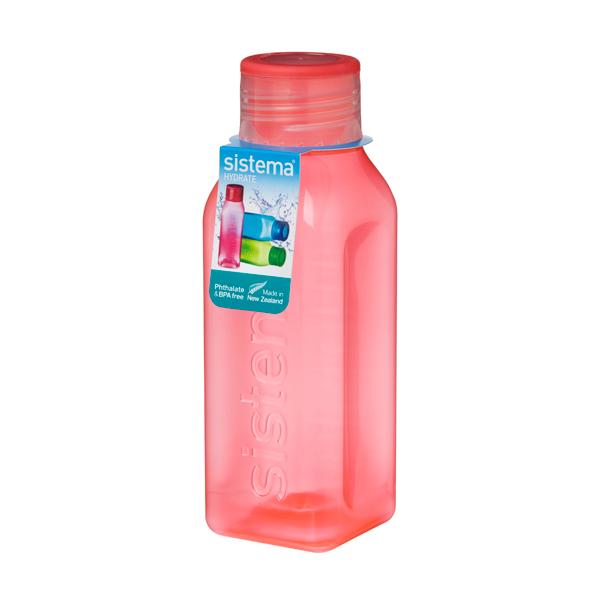 Бутылка для воды Sistema Hydrate Square Bottle 475мл Orange (870)