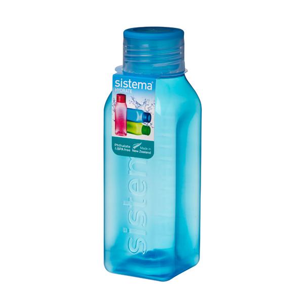 Бутылка для воды Sistema Hydrate Square Bottle 475мл Blue (870)