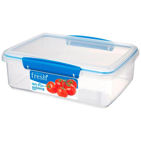 Контейнер для продуктов Sistema Rectangle Fresh 2л Marine Blue (921700)