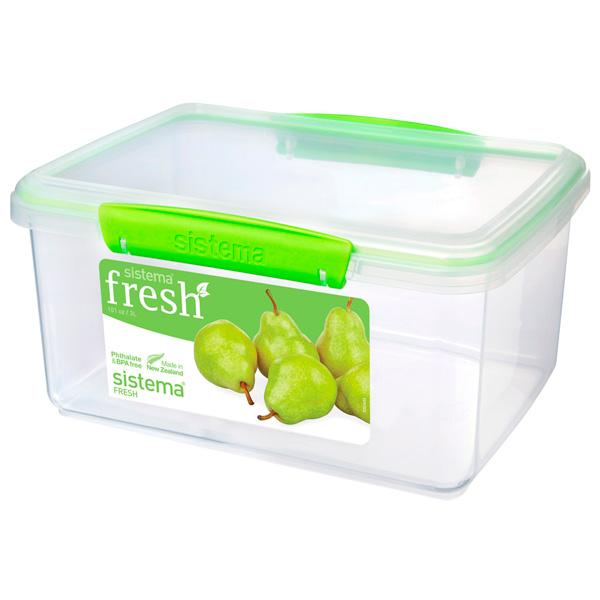 Контейнер для продуктов Sistema Rectangle Fresh 3л Lime Green (951830) скейт sulov neon lime green