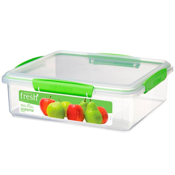 Контейнер для продуктов Sistema Rectangle Fresh 3.5л Lime Green (951851) скейт sulov neon lime green