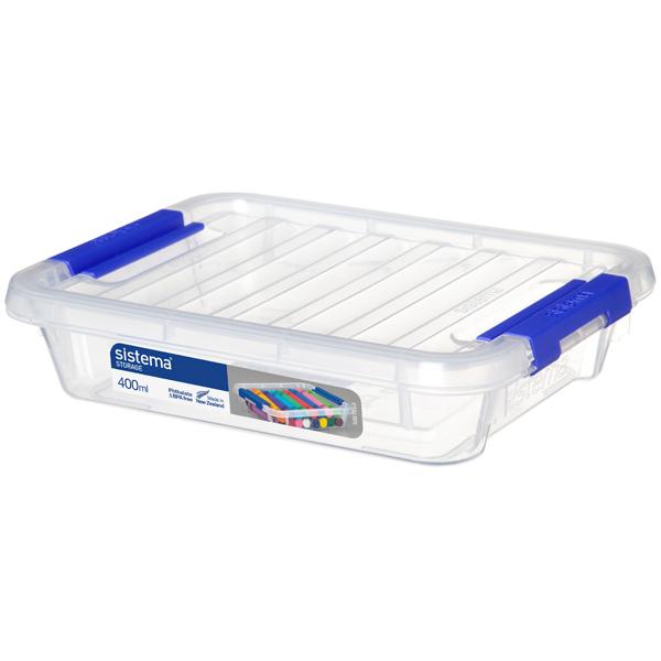 Контейнер для продуктов Sistema Storage 400мл White (70005)