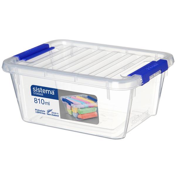 Контейнер для продуктов Sistema Storage 810мл White (70008)
