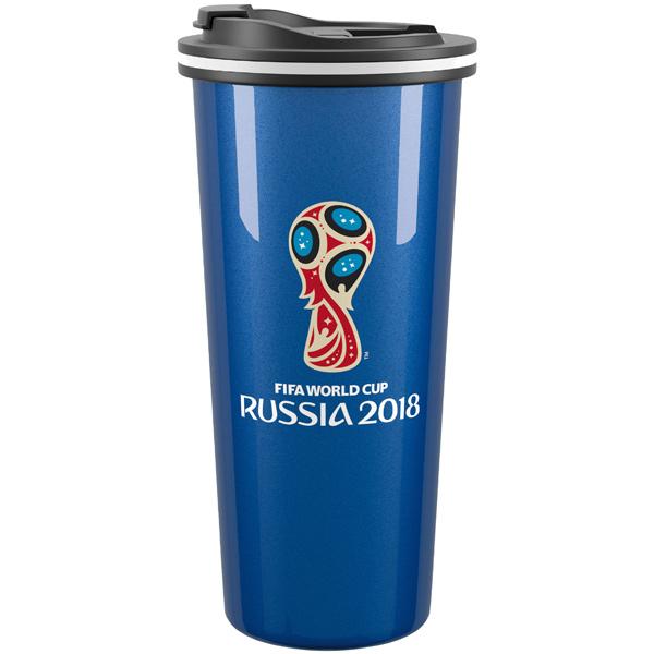 Термокружка Travel 2018 FIFA World Cup Russia 450ml Blue (99070B) термокружка emsa travel mug 0 36l blue 513552