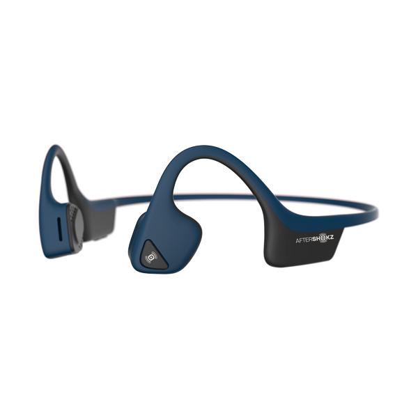Наушники с костной проводимостью звука AfterShokz Trekz Air Midnight Blue (AS650)
