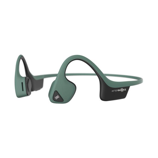Наушники с костной проводимостью звука AfterShokz — Trekz Air Forest Green (AS650)
