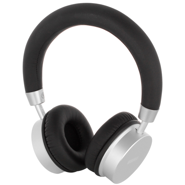 Наушники Bluetooth InterStep SBH-410 Be-In Metal Silver кардиган be in be in mp002xw1ai2s
