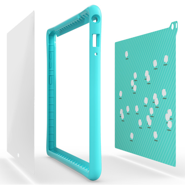 Чехол для планшетного компьютера Lenovo для Tab4 10 Plus Kids Case (ZG38C01722)