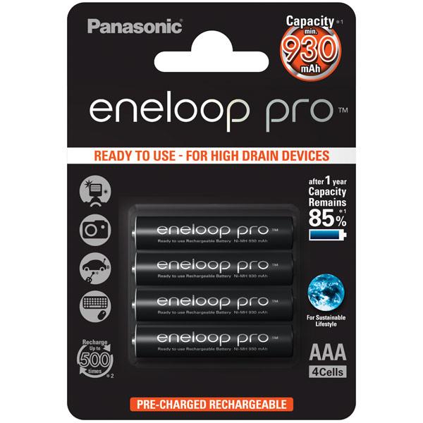 Аккумулятор Panasonic Eneloop BK-4HCDE/4BE r03 aaa eneloop lite ni mh 550mah 4 panasonic 5410853052760