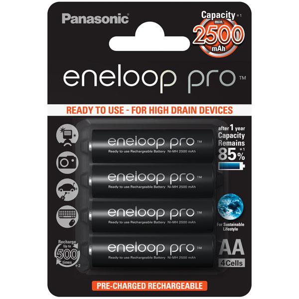 Аккумулятор Panasonic Eneloop BK-3HCDE/4BE r03 aaa eneloop lite ni mh 550mah 4 panasonic 5410853052760