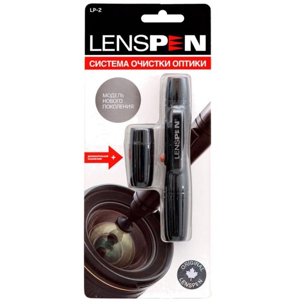 Lenspen Карандаш для очистки оптики LP-2 черного цвета