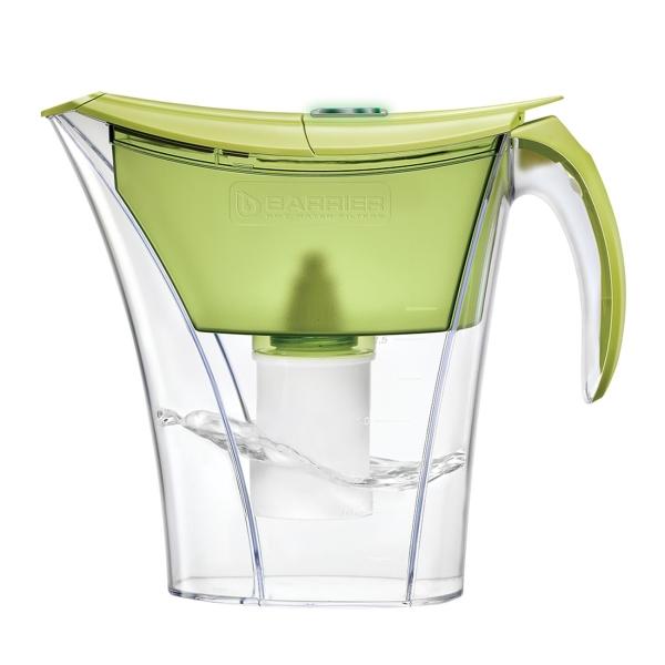 Фильтр для очистки воды Барьер Смарт Опти-Лайт Фисташковый (В38НР60) зеленого цвета