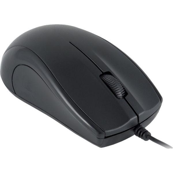 Мышь проводная Oklick — 185M Black