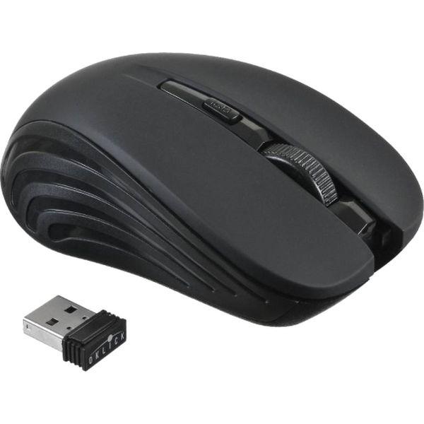 Мышь беспроводная Oklick — 545MW Black