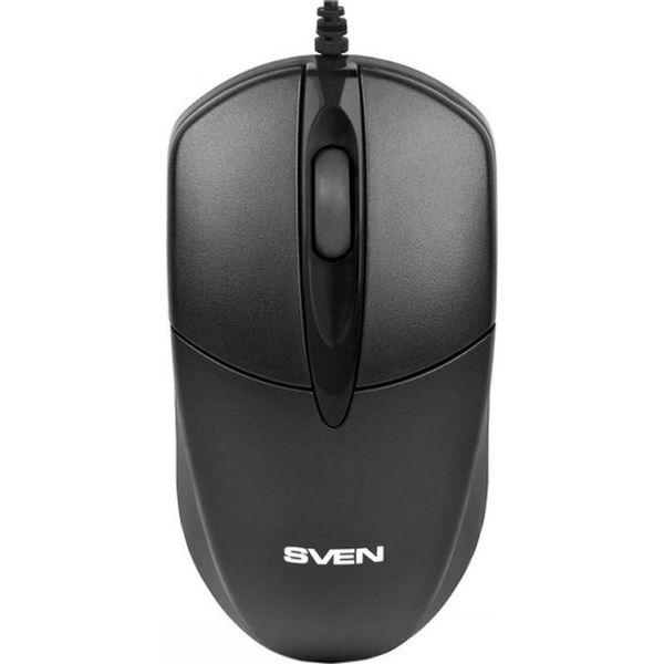 Мышь проводная Sven RX-112 Black цвет черный/синий