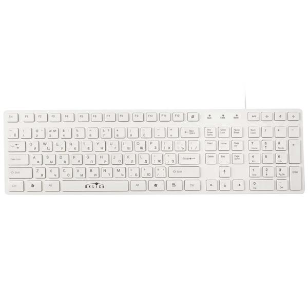 Клавиатура проводная Oklick