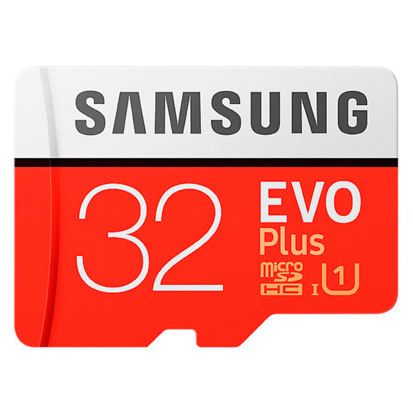 Карта памяти SDHC Micro Samsung 32GB Evo Plus (MB-MC32GA/RU)