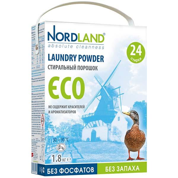 Стиральный порошок Nordland ECO 1,8кг (392401)