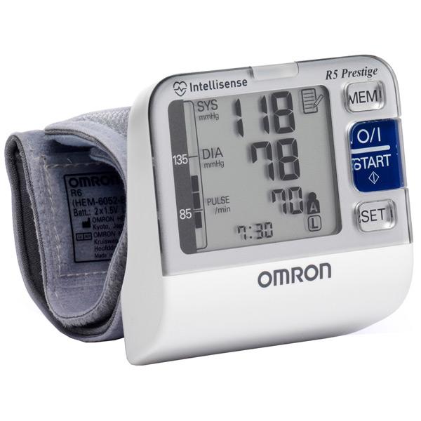 Тонометр Omron R5 Prestige (HEM-6052-RU)