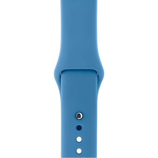 Ремешок Apple 38mm Denim Blue Sport Band - S/M & M/L ремешок apple 42mm midnight blue sport band s m