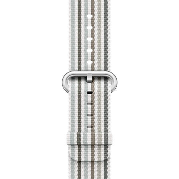 Ремешок Apple 38mm Gray Stripe Woven Nylon